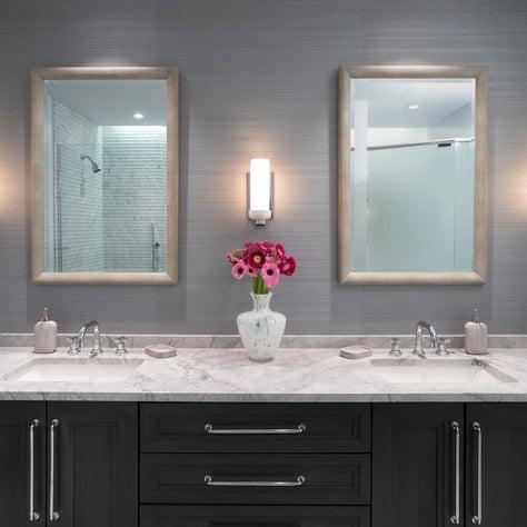Urban Master Bathroom Vanity Wall