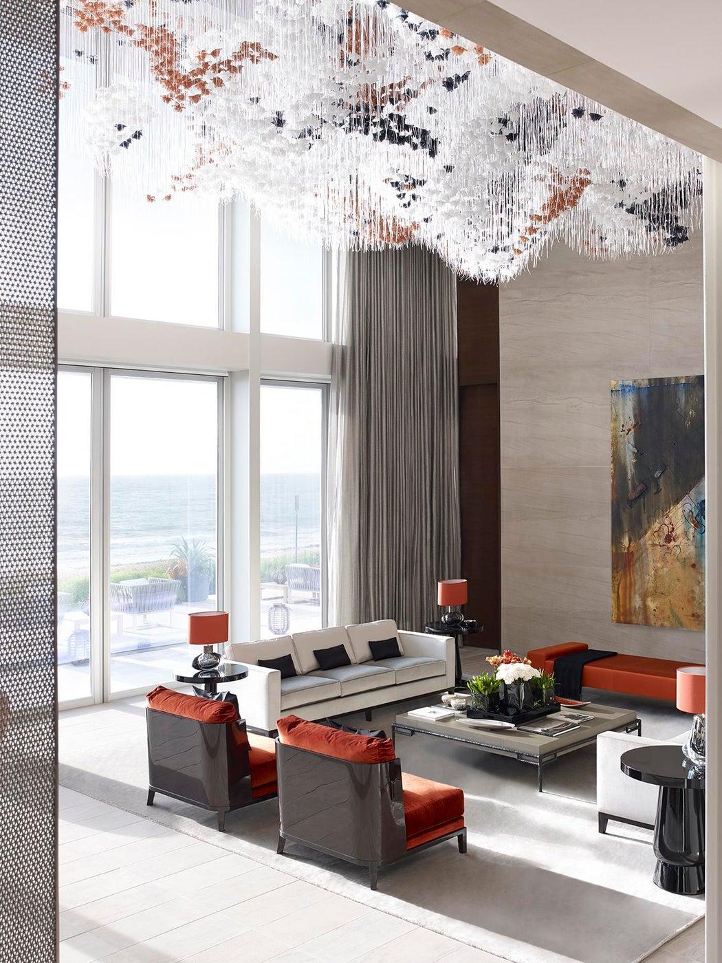 Vero Beach Residence - Formal Living Room