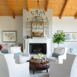 Formal Living Room - Spanish style home