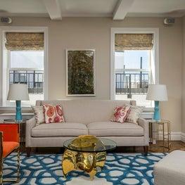 Upper West Side Residence Family Room Sofa