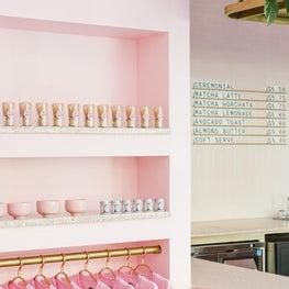 Millenial Pink Cafe