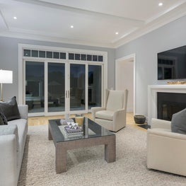 Hamptons Living Room Staging