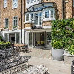 Kensington Townhouse Rear Facade and Garden