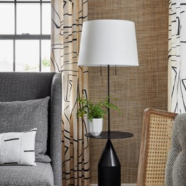 Boutique Hotel Lounge with neutrals and texture