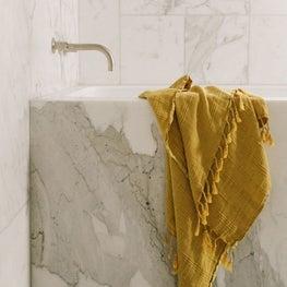 San Francisco Residence, Master Bathroom with marble soaking tub