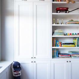 Kids Bedroom Millwork Bookcase/Desk