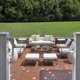 Hamptons style, Outdoor,Moroccan,bold pops of color. exotic, white & black