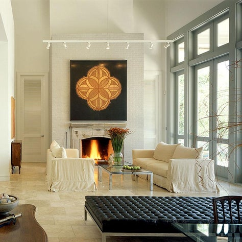 Residence in the Marshes - Living Room