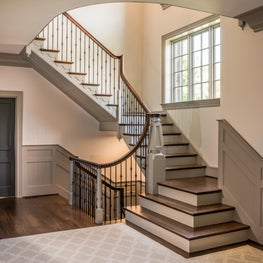Private Residence Traditional Staircase in Greenville, Delaware