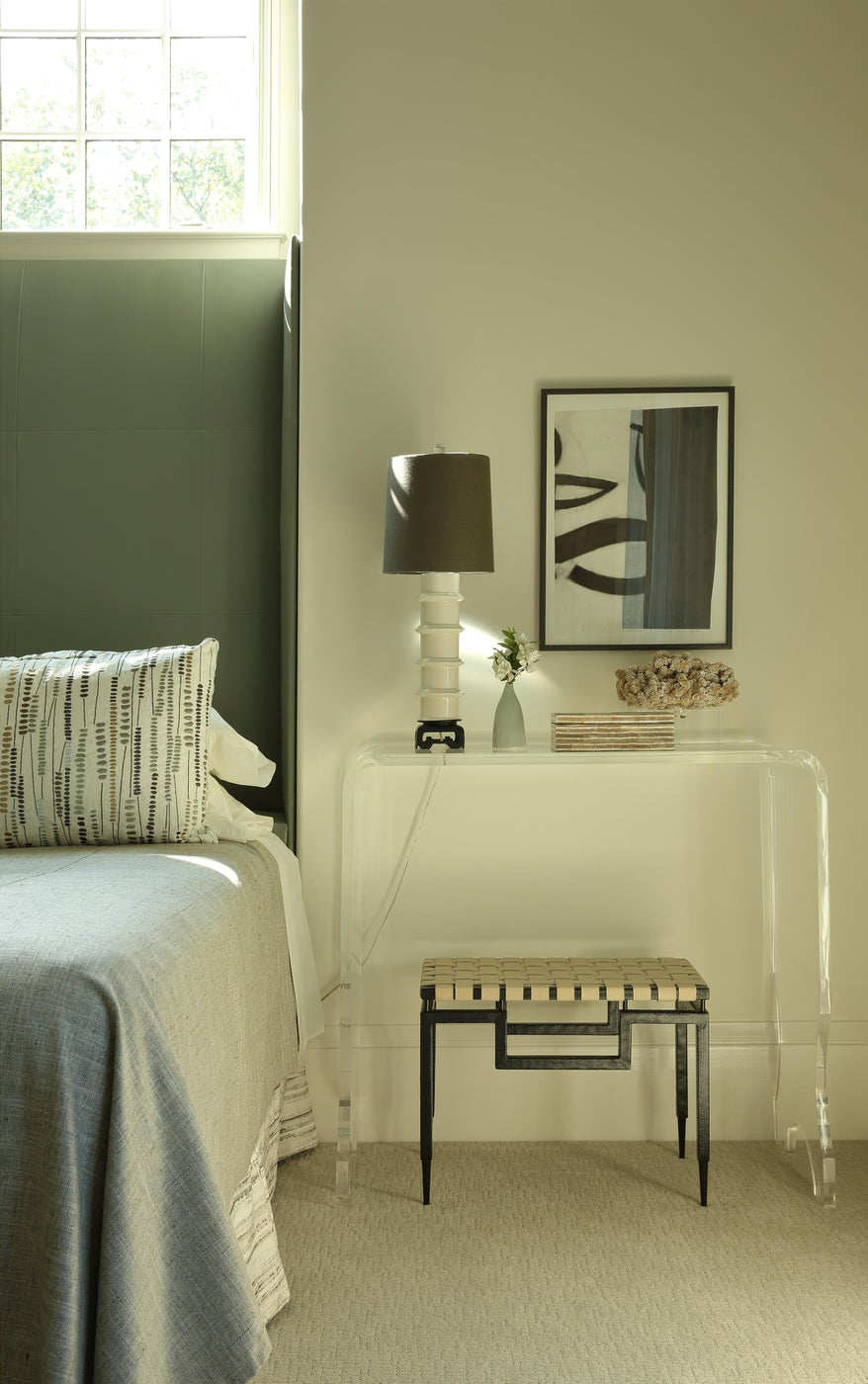 Contemporary Bedroom with Nightstand
