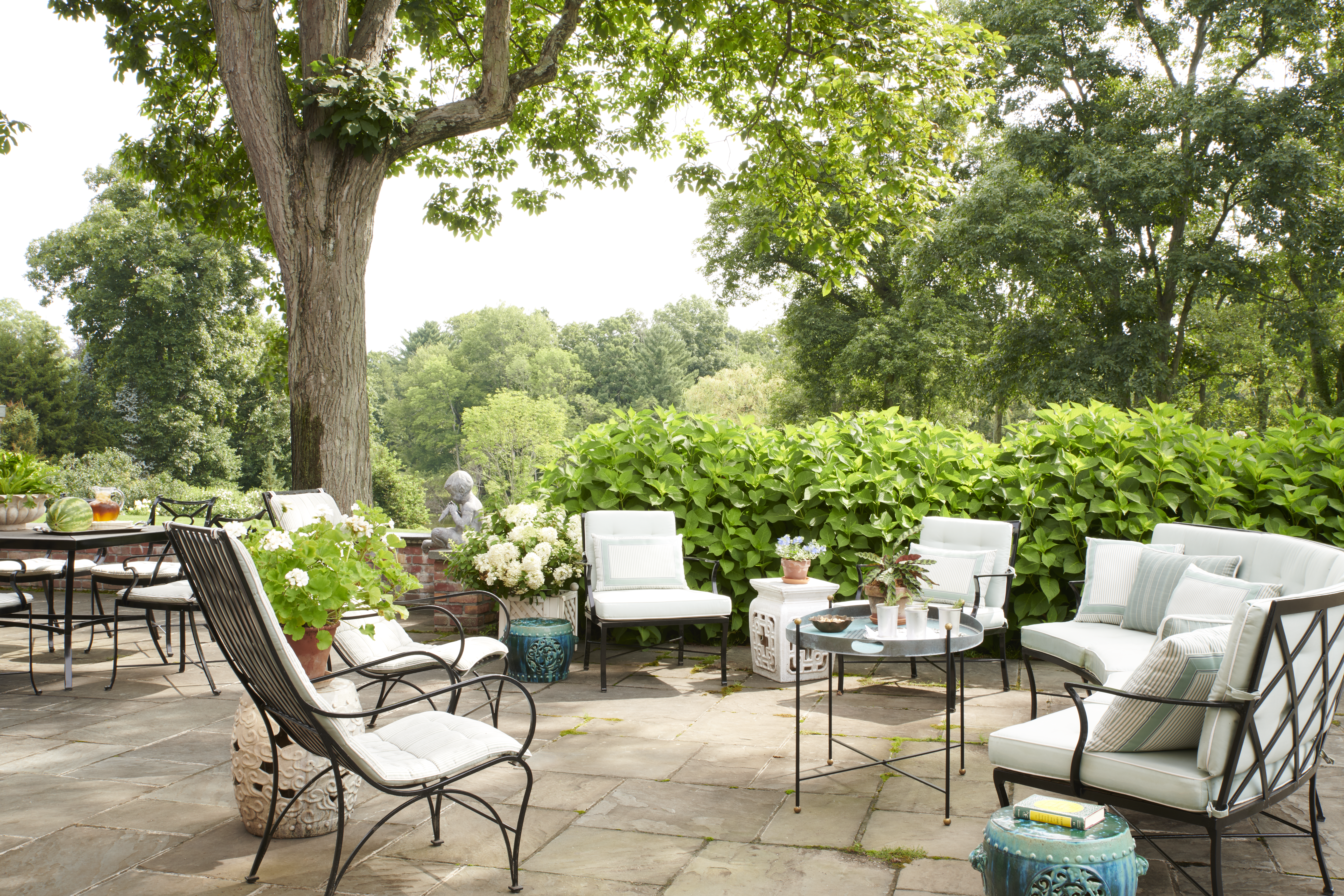 Greenwich House: Terrace