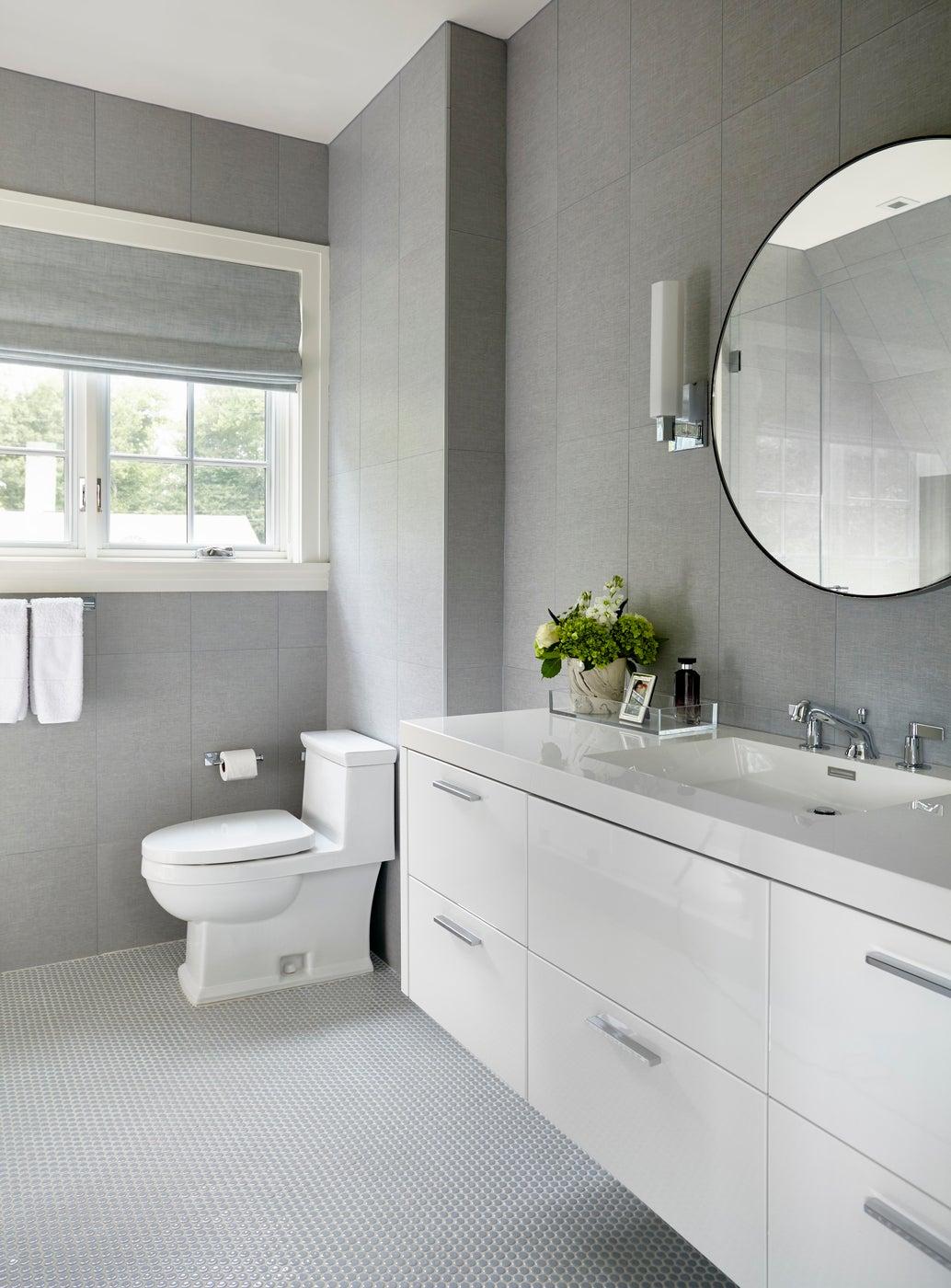Girls Bathroom, Scarsdale, New York