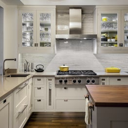 Transitional Riverside Drive Renovation, Kitchen