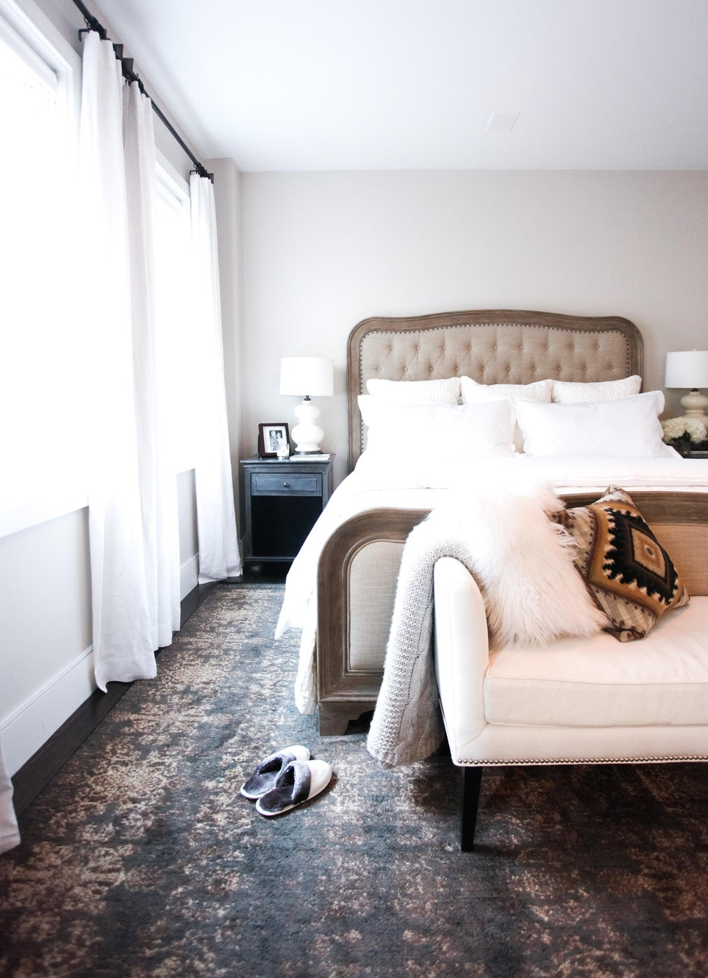 Master Bedroom in West Side Duplex