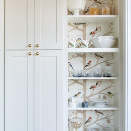 Golden Gate Heights Residence: Kitchen Shelving
