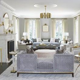 Residence in Houston, Living Room
