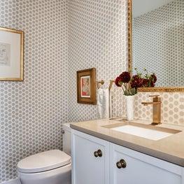 Wilmette Modern Home, Bathroom Design