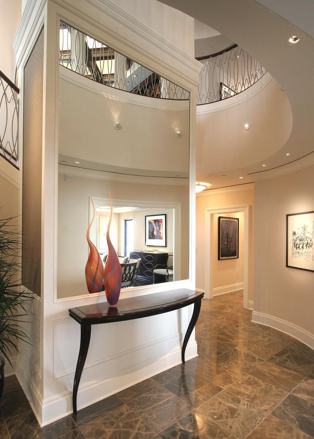 High Rise Living, Penthouse,Foyer