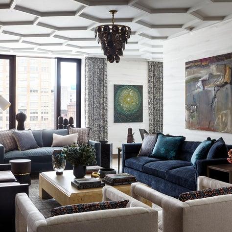 Tribeca Five Bedroom Apartment- Living Room