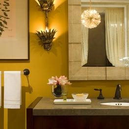 powder room // Huntley & Co. Interior Design_Washington, DC