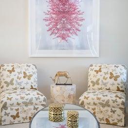 Amanda Reynal Interiors Sitting Room