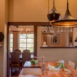 Kitchen with Tom Dixon lighting
