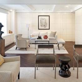 Madison Avenue Residence Living Room and Sitting Room