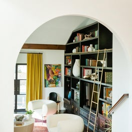 Living Room with Bespoke Built-In