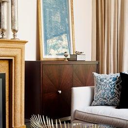 Rosedale Living Room Detail