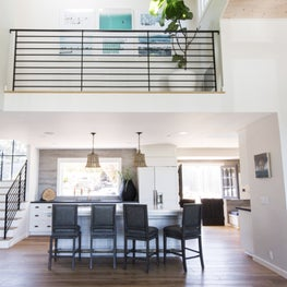 Mill Valley Kitchen with Balcony