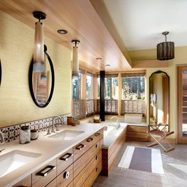 Martis Camp Residence Master Bathroom