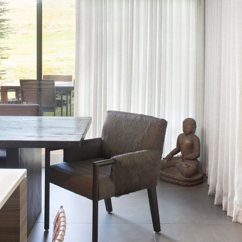 Snowmass Contemporary Dining Vignette