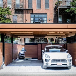 SOUTH END CONTEMPORARY - carport