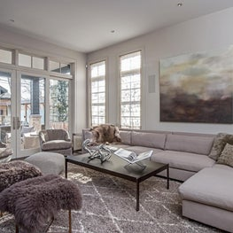 Earthy Glamour, Family Room