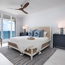 Jupiter Ocean Grande - Condo Renovation: Master Bedroom
