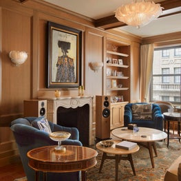 New York Merinoff Apartment Living Room