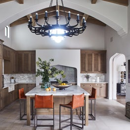 Moroccan inspired kitchen
