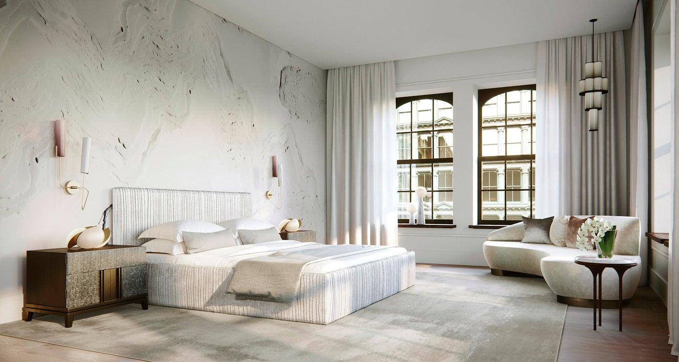 NYC Loft, Master Suite