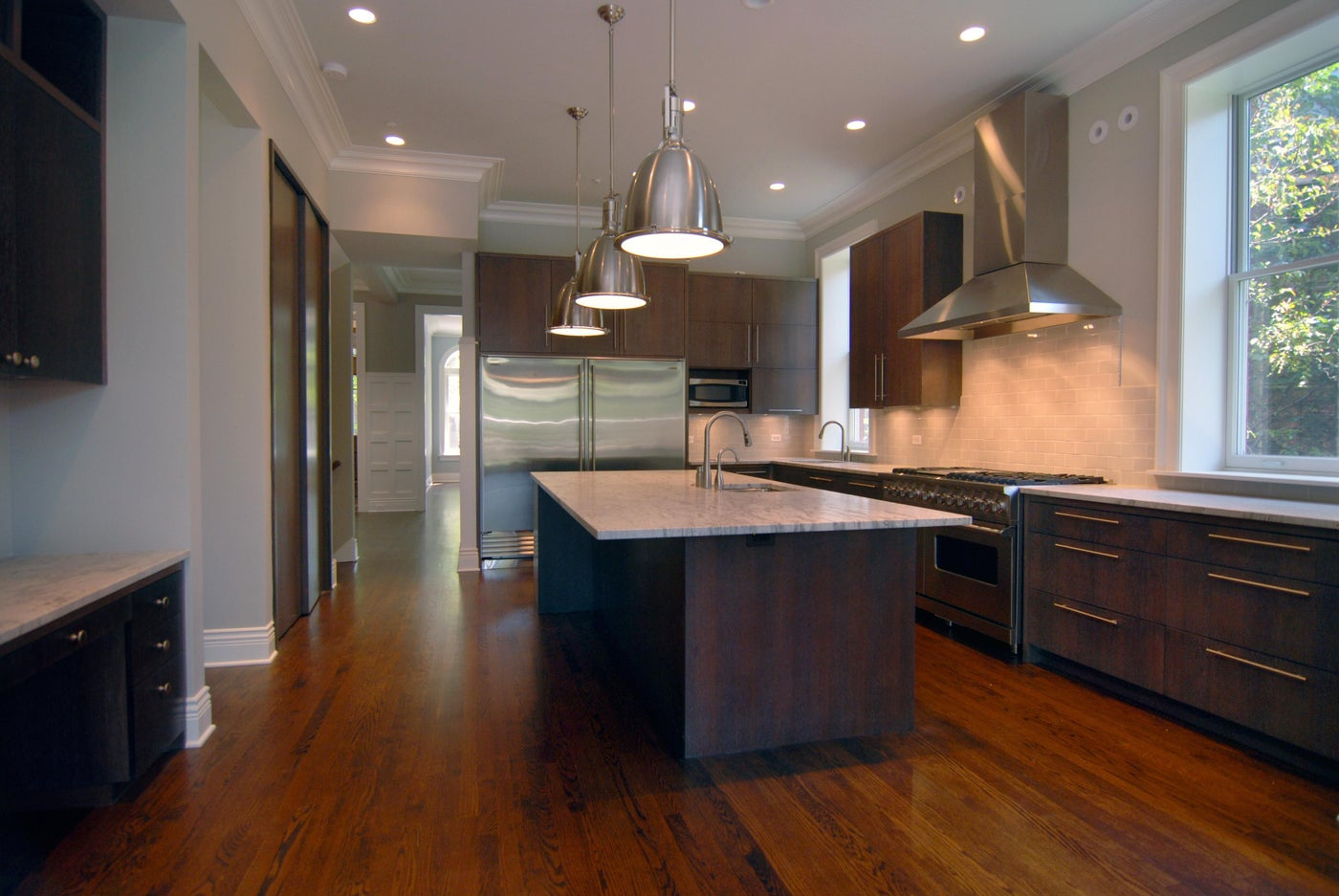 Custom Kitchen in a complete Home Renovation