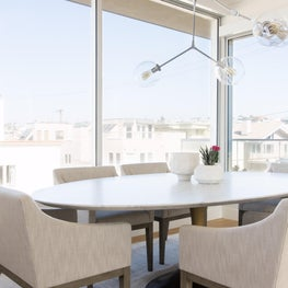 Hermosa Beach Strand House Dining Space