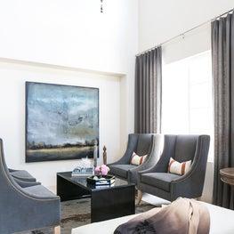 Coastal Modern Formal Living Room