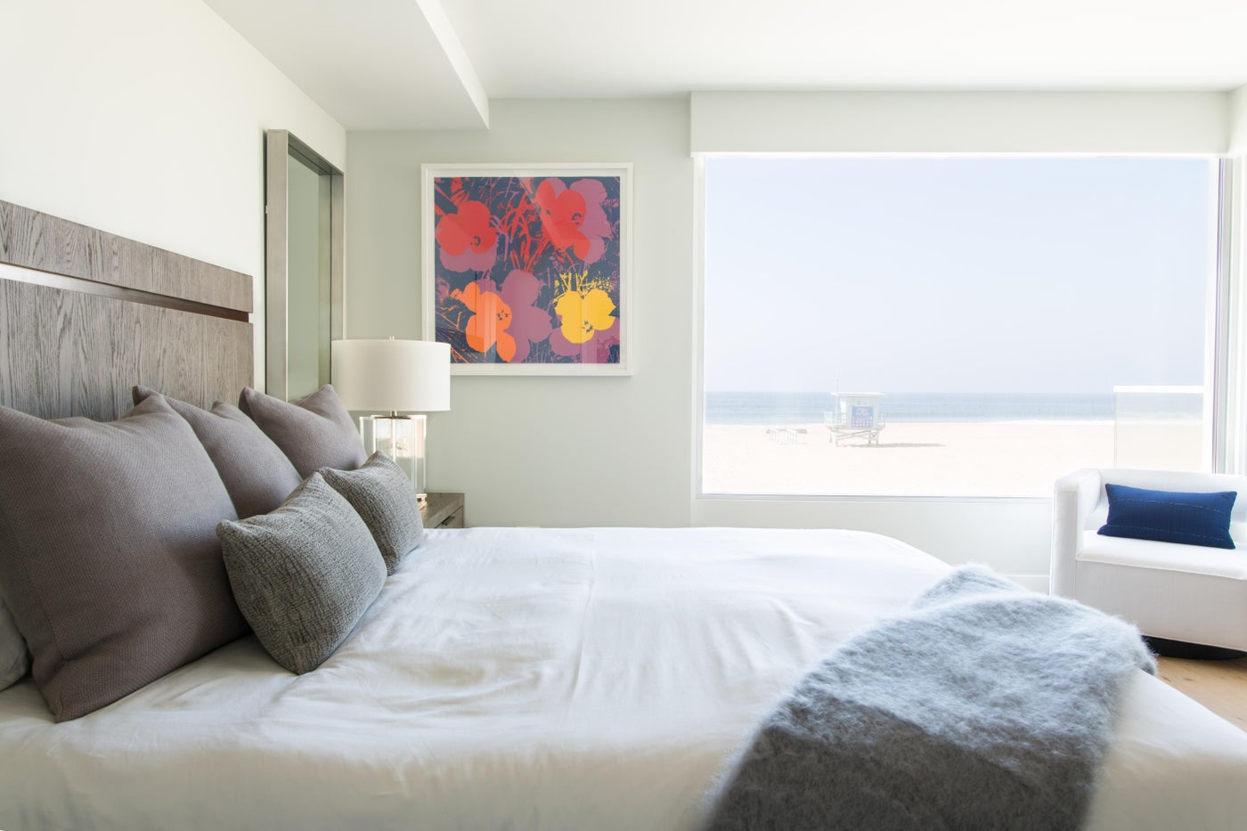 Hermosa Beach Strand House Bedroom