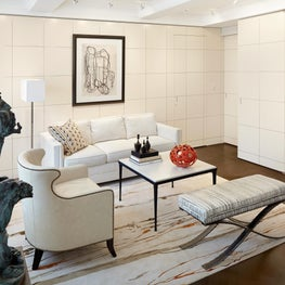 Madison Avenue Residence Living Room