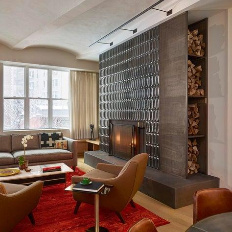 West Village Loft - Fireplace