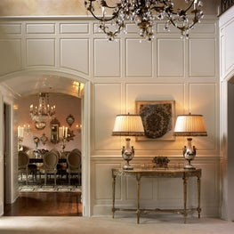 Grand Westchester Estate, Entry Foyer