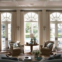 Palm Beach Residence - Living Room