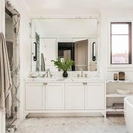 Master Bath. Designed by Lindsay Gerber