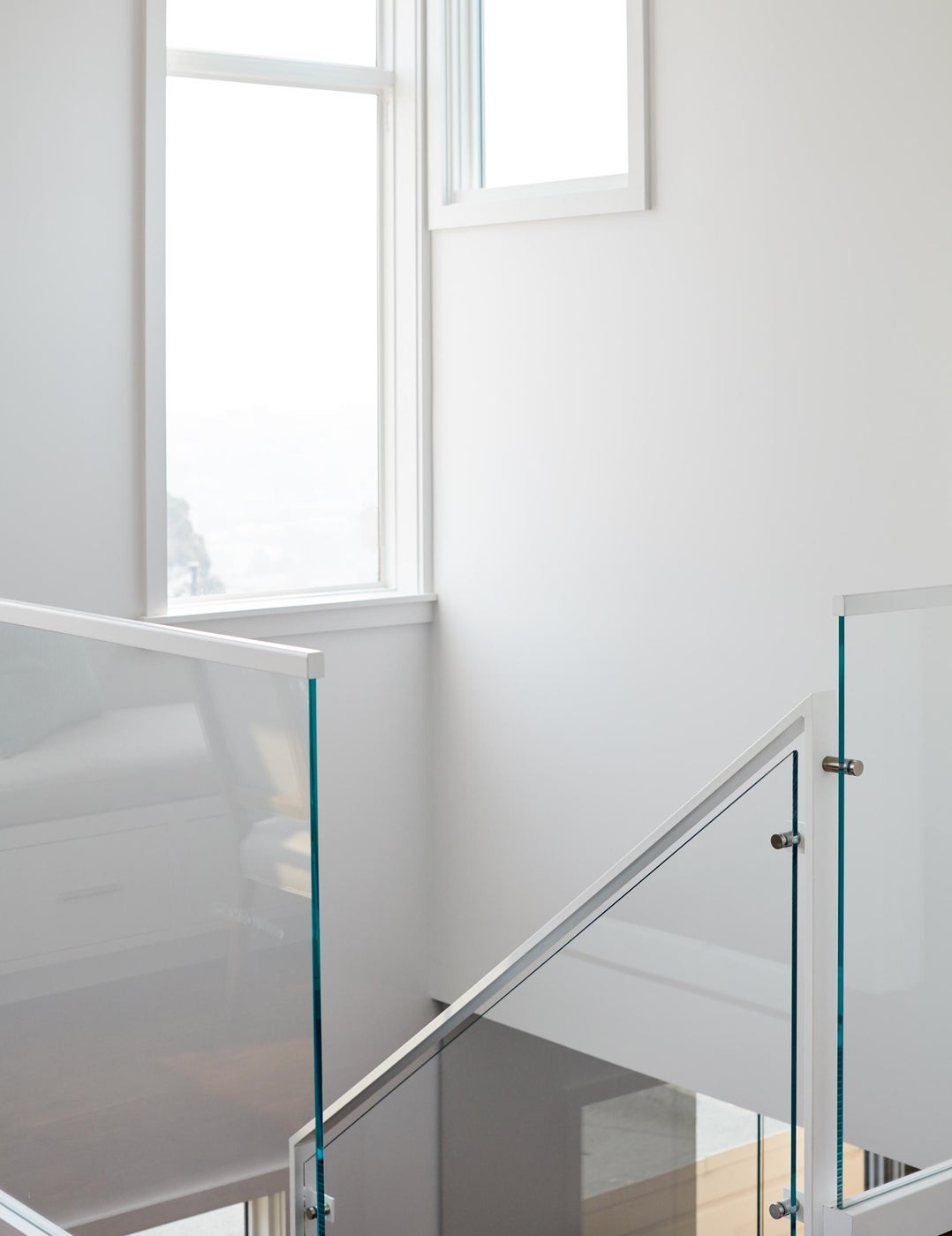 San Francisco Glass Stair Railing
