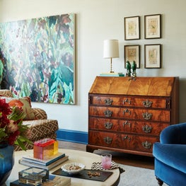 5th Avenue Duplex- Living Room