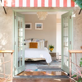 Casa Chroma/ A young family returns to the west coast and their Spanish bungalow gets a LA facelift, filled with color, pattern, and a healthy dose of mid-century modern influence.